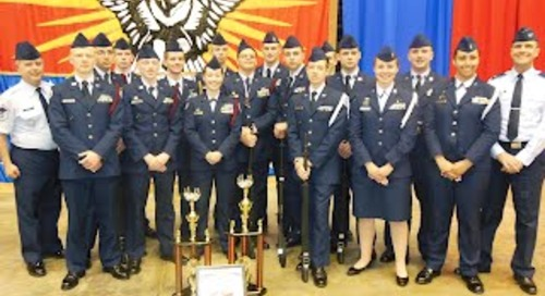 BATTLE GROUND PUBLIC SCHOOLS' AFJROTC PROGRAMS BRING HOME TOP FINISHES IN NATIONAL COMPETITION