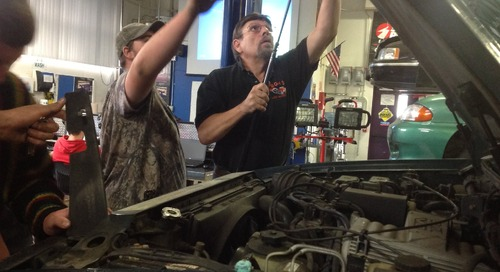 BGHS Teacher Helped Write the Book that Trains Students in Automotive Life Skills