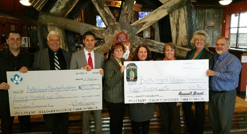 BG Education Foundation Receives $1,600 in Donations from Local Businesses