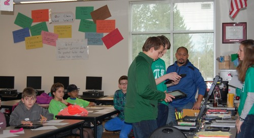 Middle Schoolers Tackle Equations at Southwest Washington Math Challenge