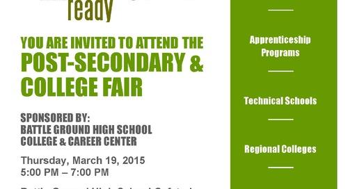 Battle Ground High School Hosts College Fair