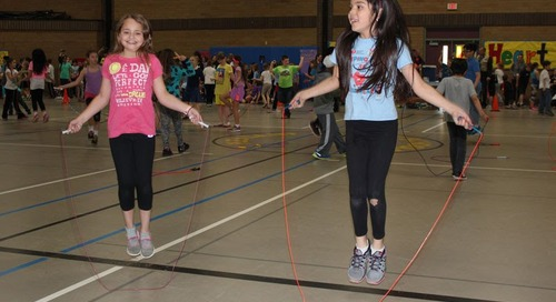 Pleasant Valley Teacher Receives National Jump Rope For Heart Grant