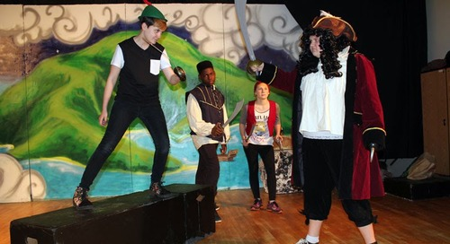Laurin Middle School Students Sing and Dance in 'Peter Pan Jr.'