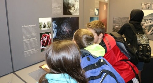 Field Trip Brings Volcano Studies to Life for Sixth Graders
