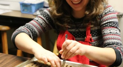 Students Learn Skills through the Business of Making Doggie Biscotti
