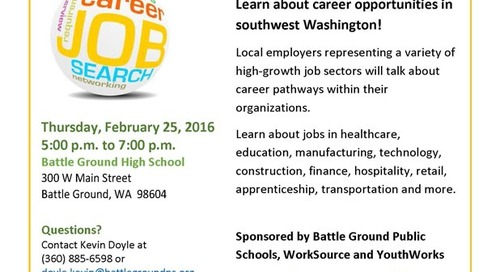 Identify a new career path at Feb. 25 Industry Fair
