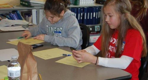Middle Schoolers Take SW Washington Math Challenge