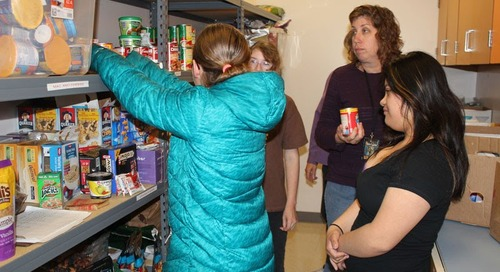 Battle Ground High School Opens Food Pantry for Students