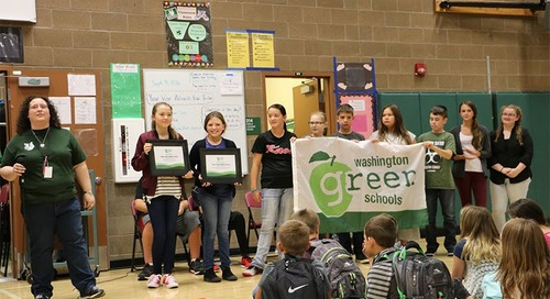 Tukes Valley Middle School makes bein' green look easy