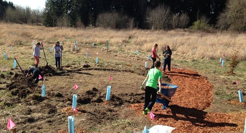 Tukes Valley Students Create Outdoor Classroom, Earn Green School Certification