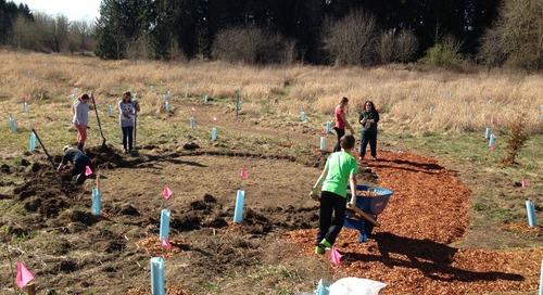 Tukes Valley Students Create Outdoor Classroom, Earn Green School Certification