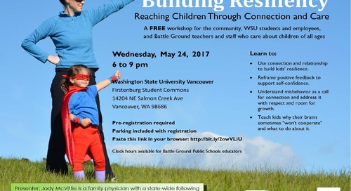 Parent workshops focus on coping, resiliency skills for youth