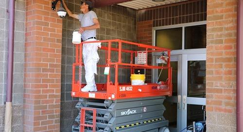 Summer maintenance preserves assets at Battle Ground schools