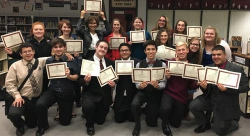 Win Gives PHS Speech and Debate Team Solid Start to Season