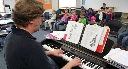 Words Are Central to Music Teacher's Growth Mindset