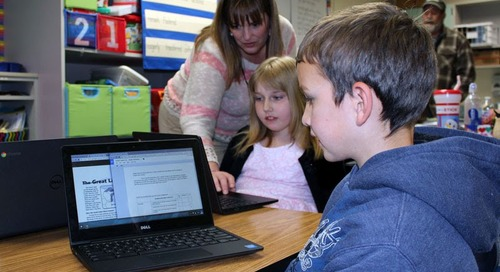 Yacolt Teachers Reach for Chromebooks to Teach Reading
