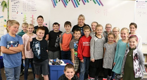 It's Socktober for Amboy and Pleasant Valley students