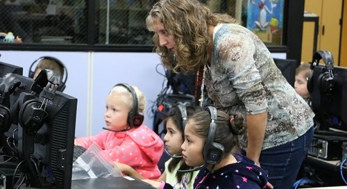 Pleasant Valley Primary students get a language learning boost