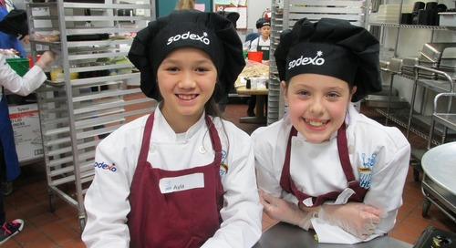 Students show off their cooking skills in Future Chefs contest