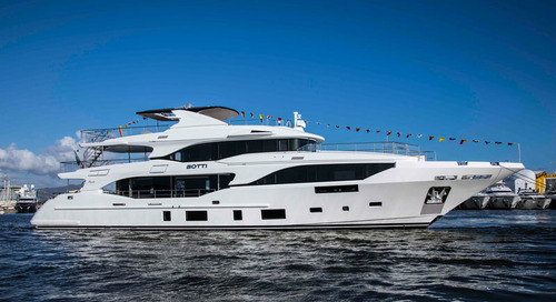 Benetti at the Cannes Yachting Festival 2018 with 3 previews