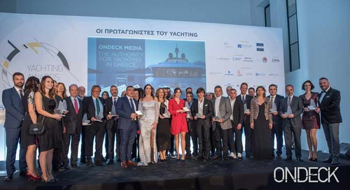 Honorary Yachting Awards 2019  at Zappeion Mansion