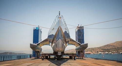 Α day at Spanopoulos Shipyards in Greece