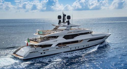Baglietto at the Miami Yacht Show