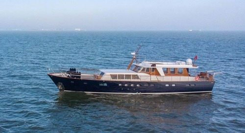 A classic reborn: Refit of Feadship Caravelle