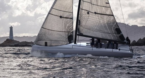 The new ClubSwan 36 by Nautor's Swan is powered by Torqeedo and BMW.