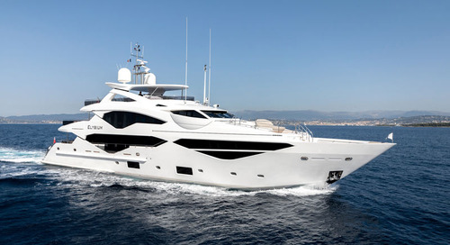 Sunseeker's 131 Yacht Elysium is shortlisted for the 2019 World Superyacht Awards