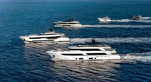 Ferretti Group lands with a fleet of 18 magnificent yachts FLIBS