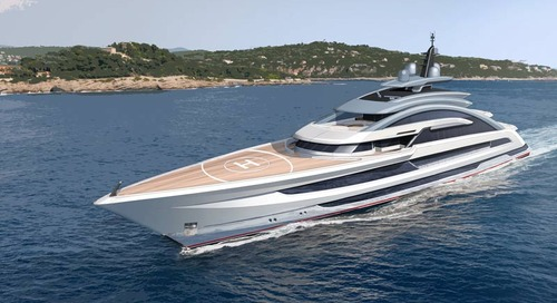 Project Cosmos by Heesen Yachts