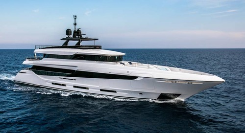 A new yacht in the Mangusta Oceano 43 series