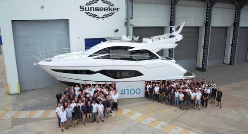 100th Sunseeker Manhattan 52 underlines its place in history