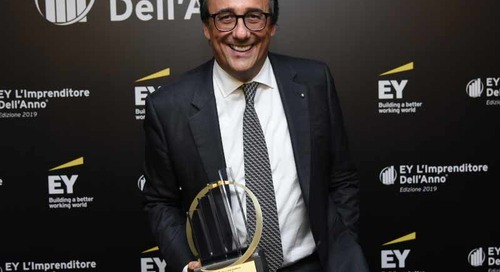 Massimo Perotti awarded the Entrepreneur of the Year 2019
