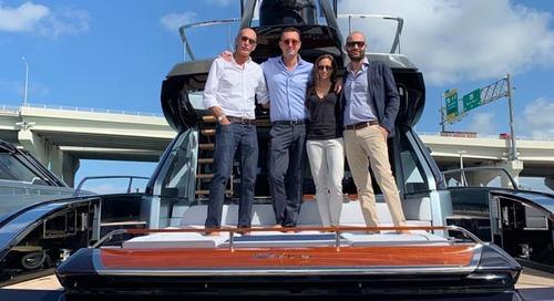 Officina Italiana Design at Miami Boat Show 2019
