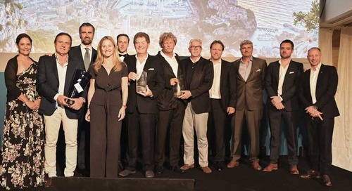 Winners of the 6th MYS Superyacht Awards Ceremony