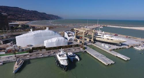 Cantiere Rossini. A brand new shipyard