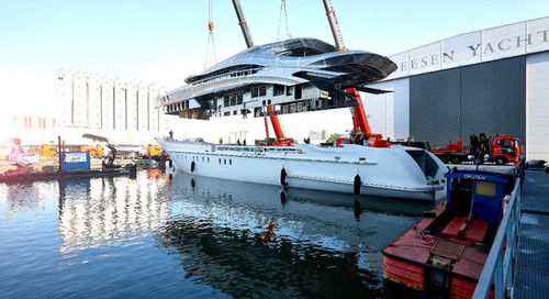 Project Triton: Hull and superstructure now joined together