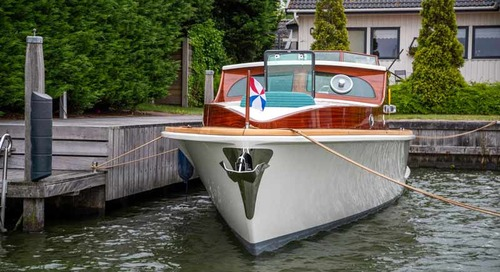 1939 Feadship Zephyr relaunched after two-year refit