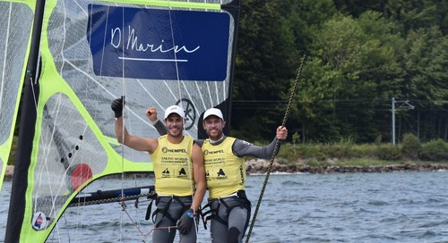 D-Marin is proud sponsor of 49er class athletes Šime and Mihovil Fantela