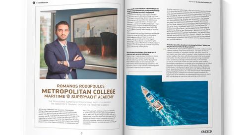 In conversation with Romanos Rodopoulos, Metropolitan College Superyacht Academy