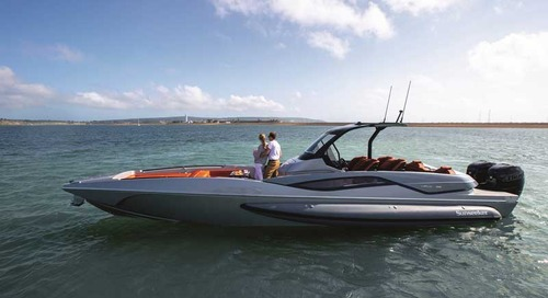 Sunseeker line up for the Cannes Yachting Festival