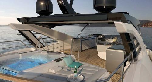 Sunseeker's new 87 Yacht