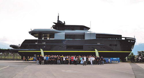 Arcadia Yachts delivered a new unit of A105