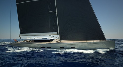 Baltic 142 Canova on its way for spring launch