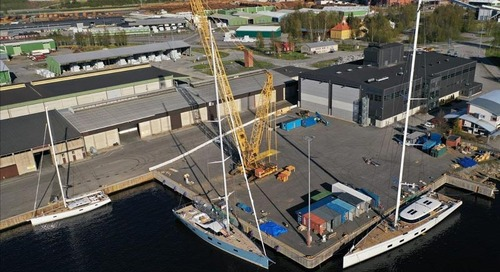Baltic Yachts Launch Three New Yachts in Ten Days