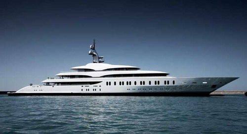 The first yacht delivered of Benetti's giga season
