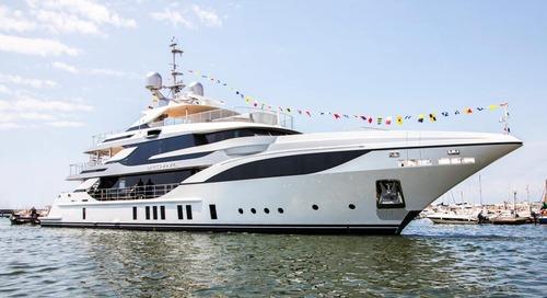 "Benetti Launches FB703 M/Y ""Bacchanal"" a 47-meter Custom Mega Yacht"