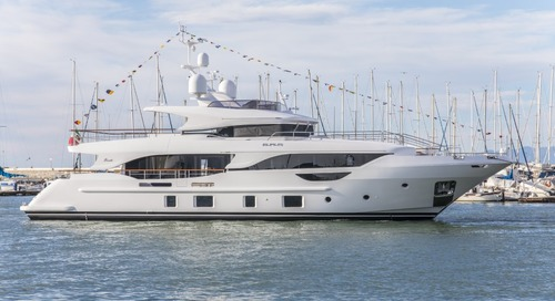 Eurus the first Benetti launch of the year